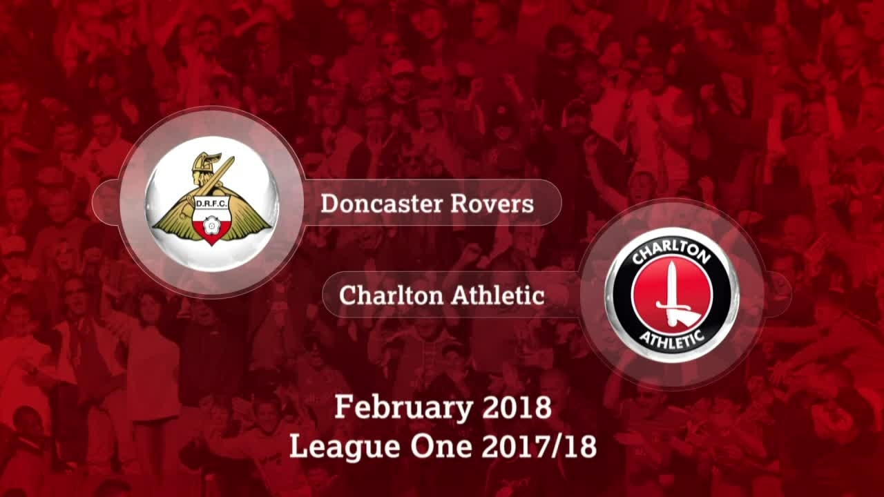 GOALS | Doncaster 1 Charlton 1 (Feb 2018)