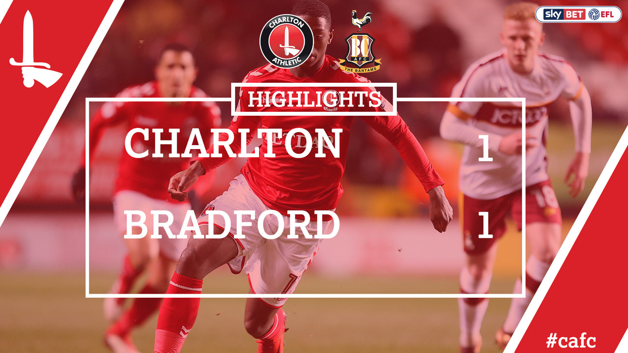 40 HIGHLIGHTS | Charlton 1 Bradford 1 (Feb 2018)