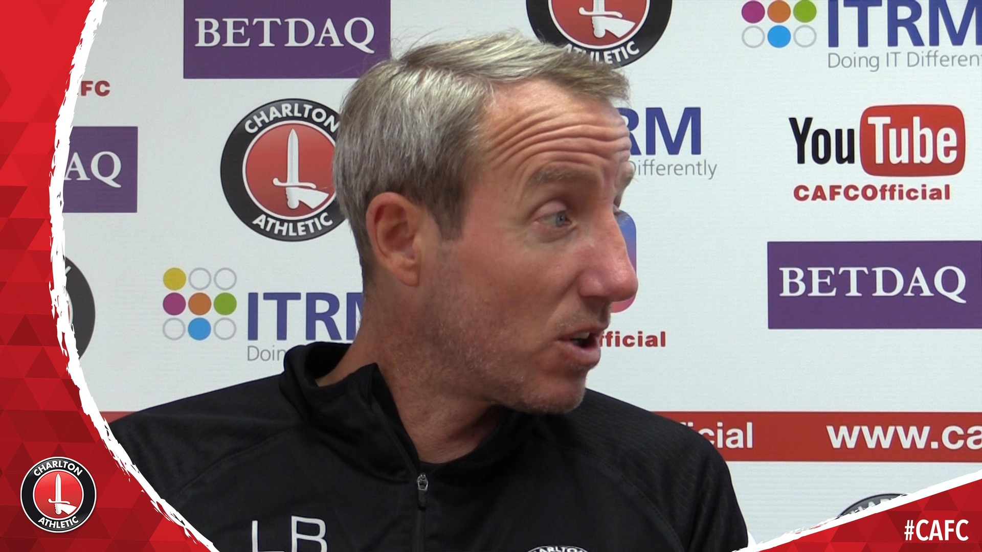 Lee Bowyer previews Charlton's Valley clash against Oxford United (October 2018)