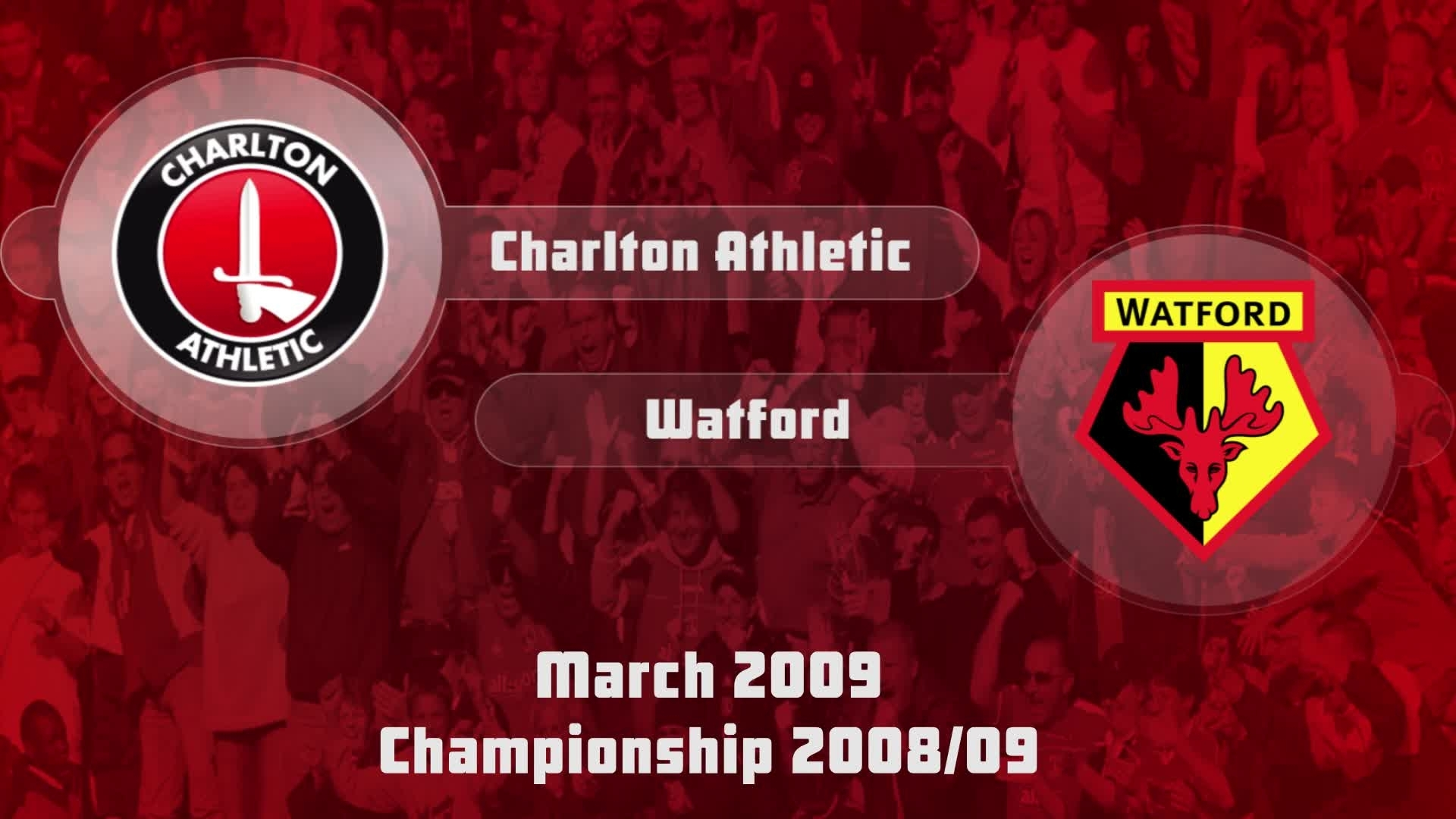 40 HIGHLIGHTS | Charlton 2 Watford 3 (March 2009)