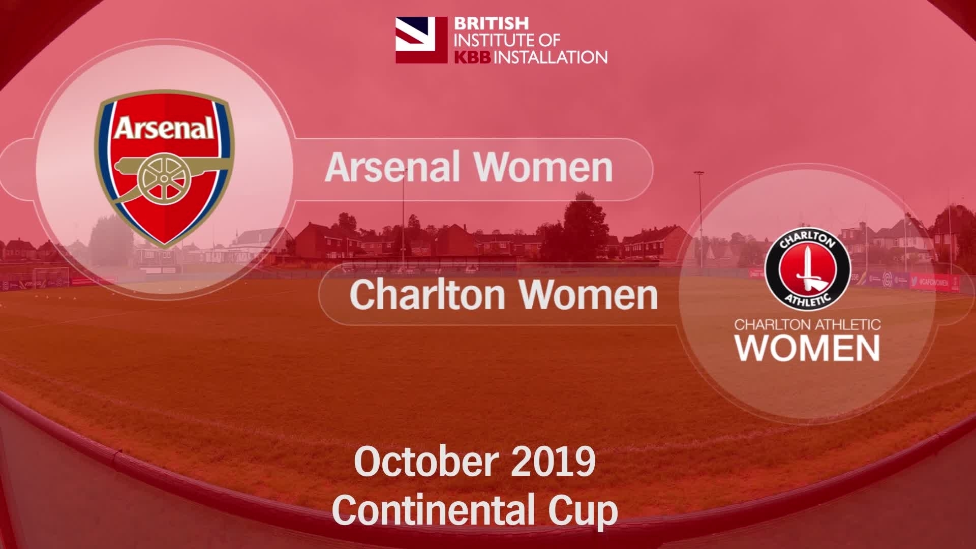 WOMEN'S HIGHLIGHTS  | Arsenal 4 Charlton 0 (Oct 2019)