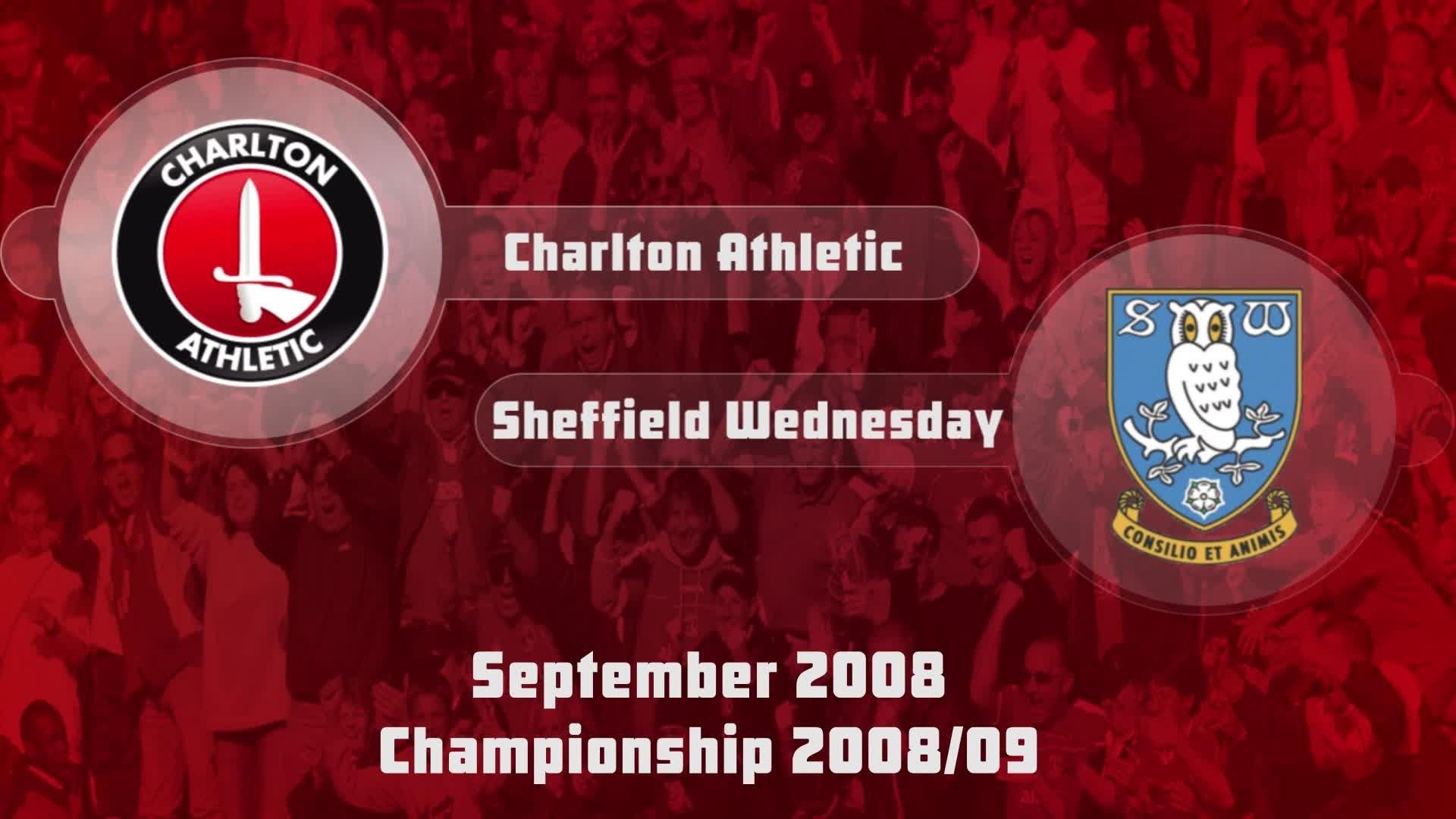 09 HIGHLIGHTS | Charlton 1 Sheffield Wednesday 2 (Sept 2008)