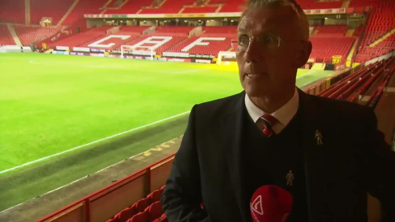 Nigel Adkins' Bolton reaction (September 2021)