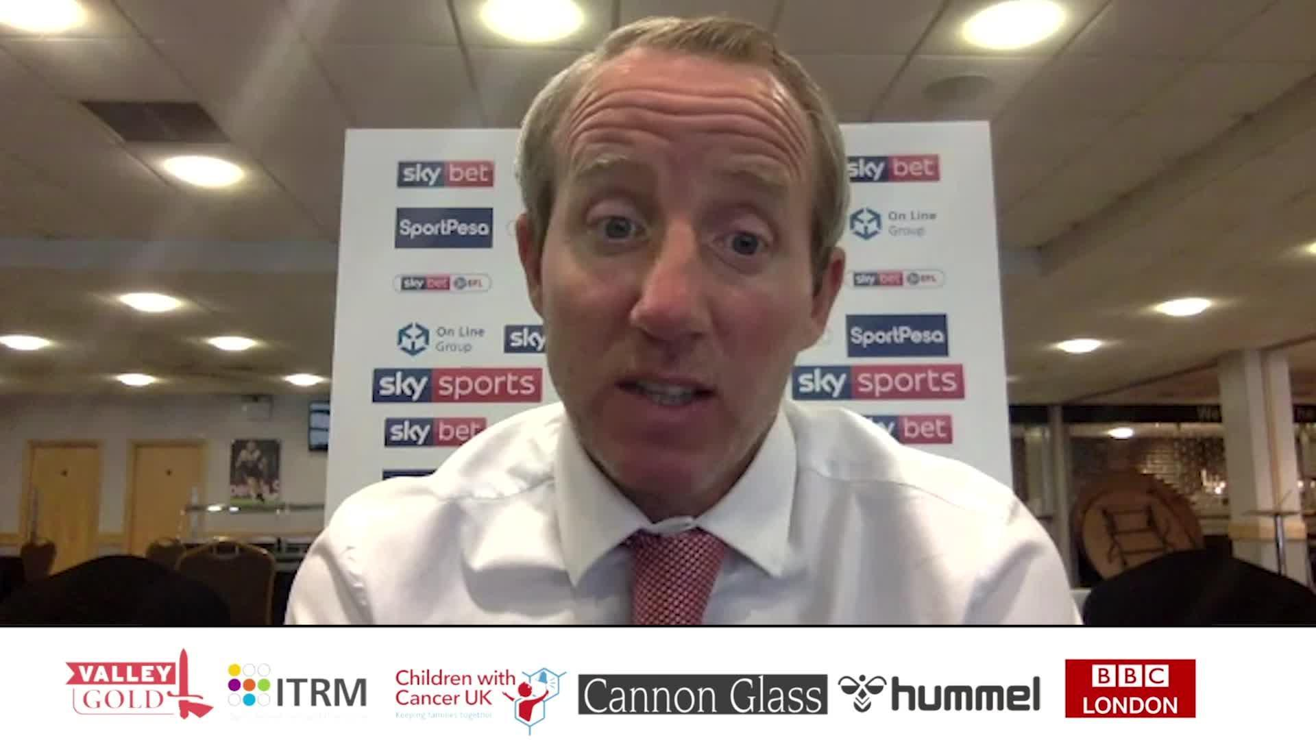 POST-MATCH | Bowyer speaks following victory over Hull City (June 2020)