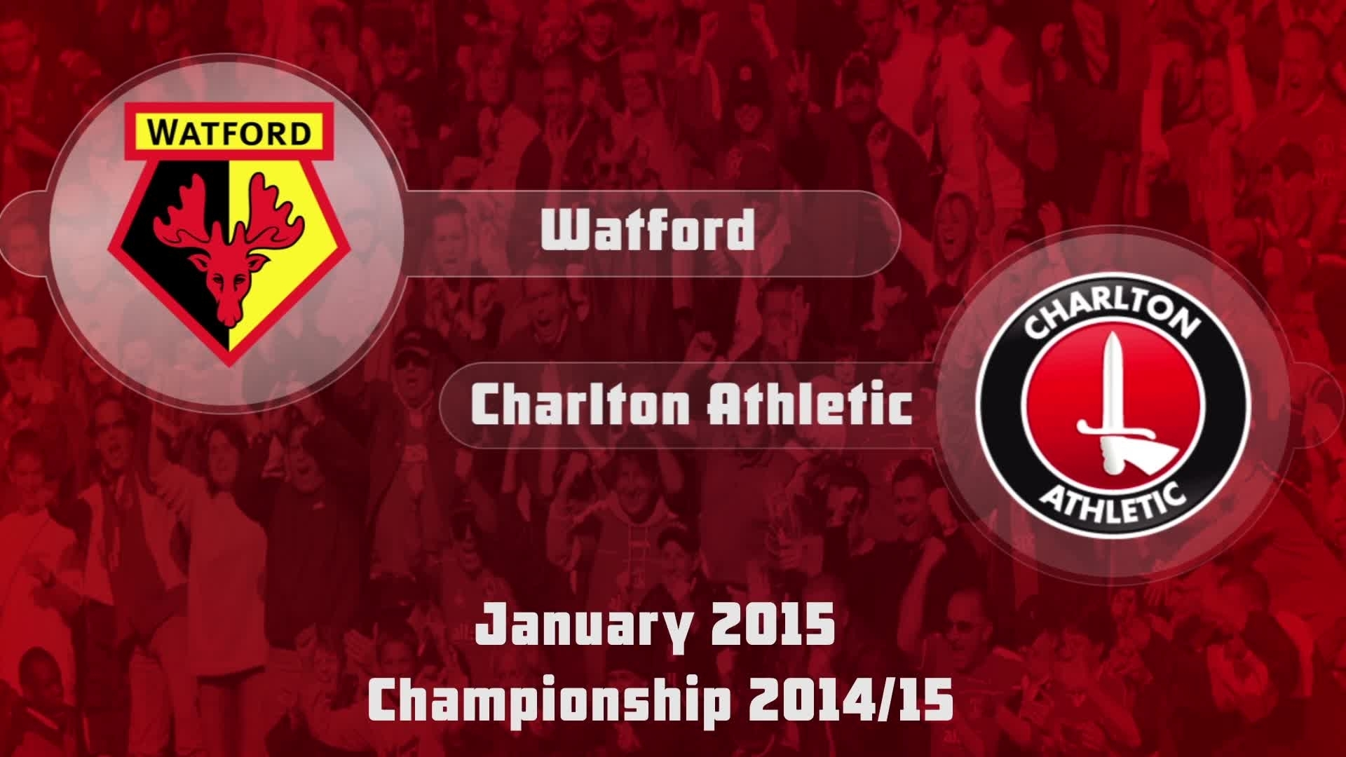 29 HIGHLIGHTS | Watford 5 Charlton 0 (Jan 2015)