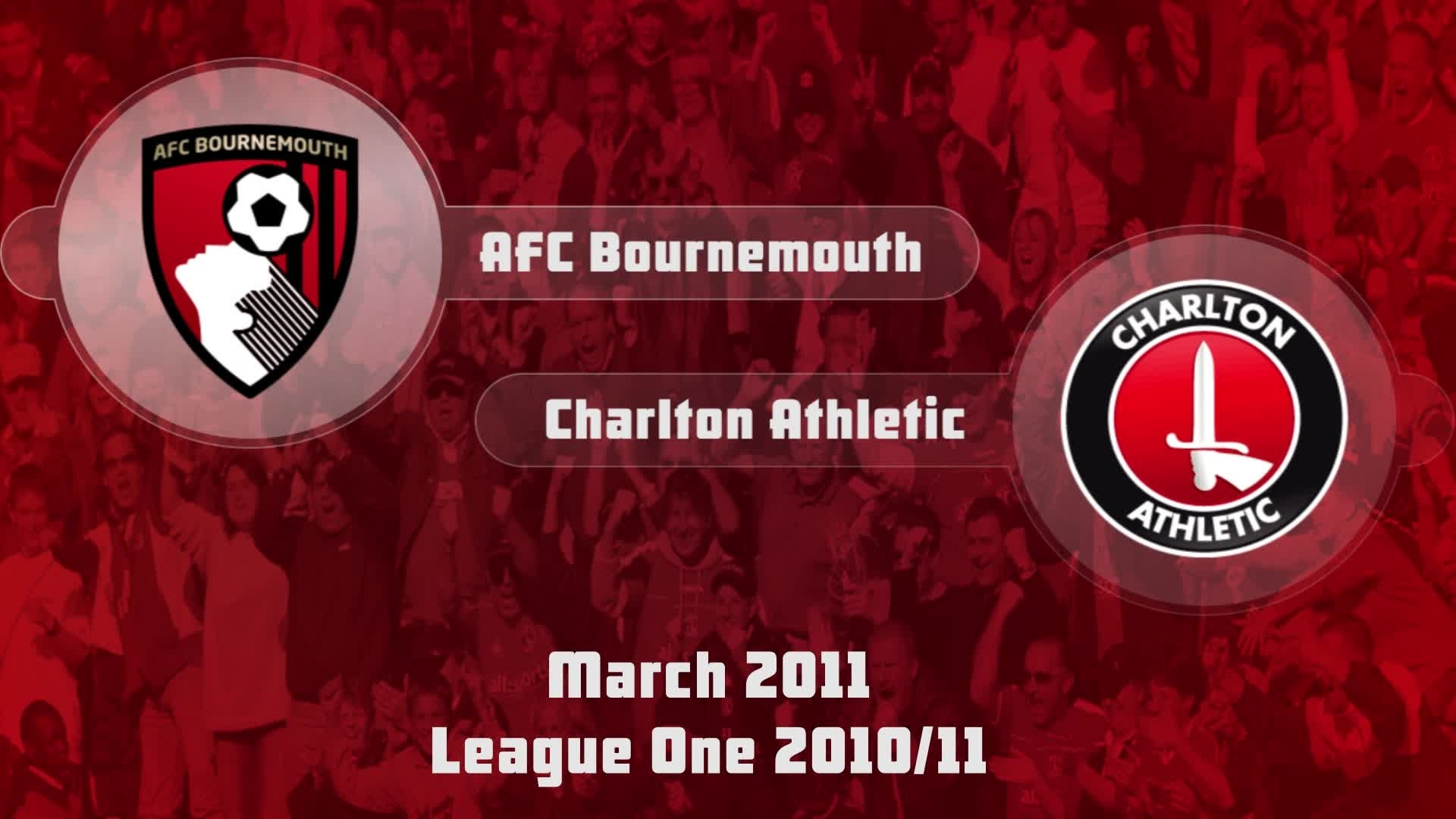 47 HIGHLIGHTS | AFC Bournemouth 2 Charlton 2 (March 2011)