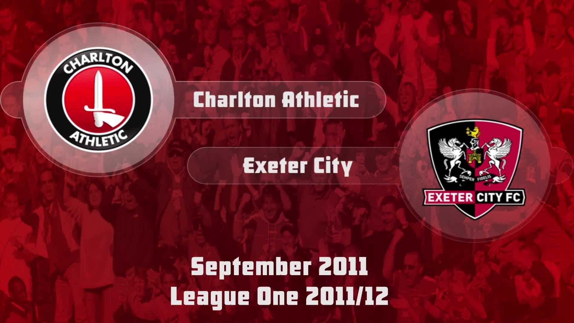 08 HIGHLIGHTS   Charlton 2 Exeter 0 (Sept 2011)