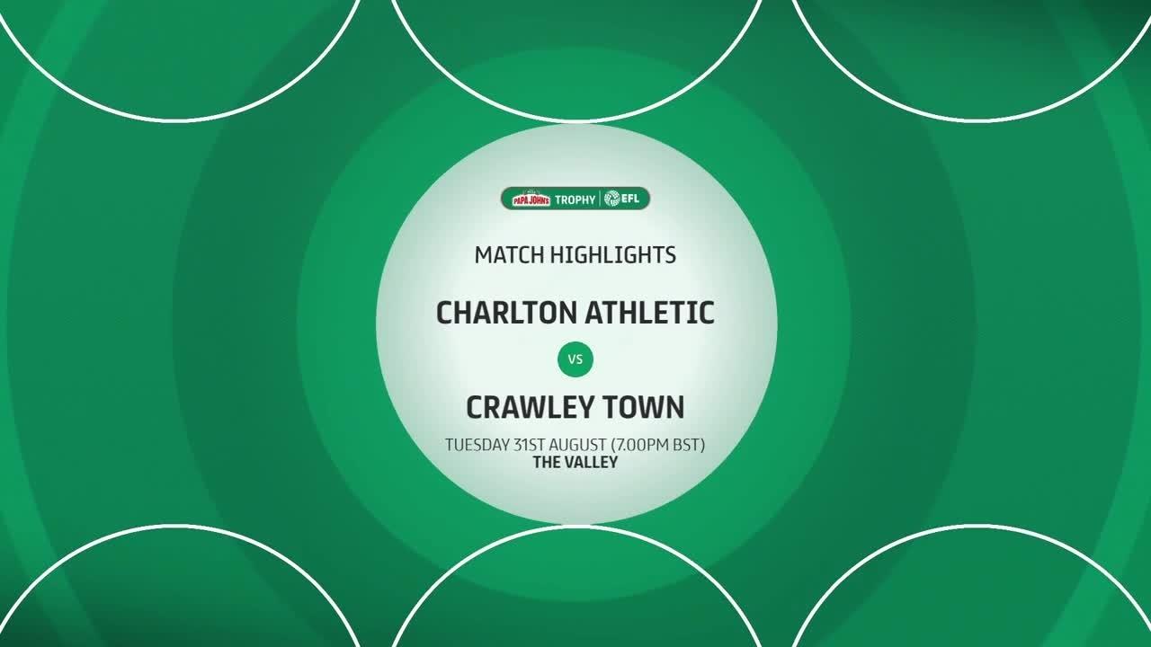HIGHLIGHTS | Charlton 6-1 Crawley (August 2021)