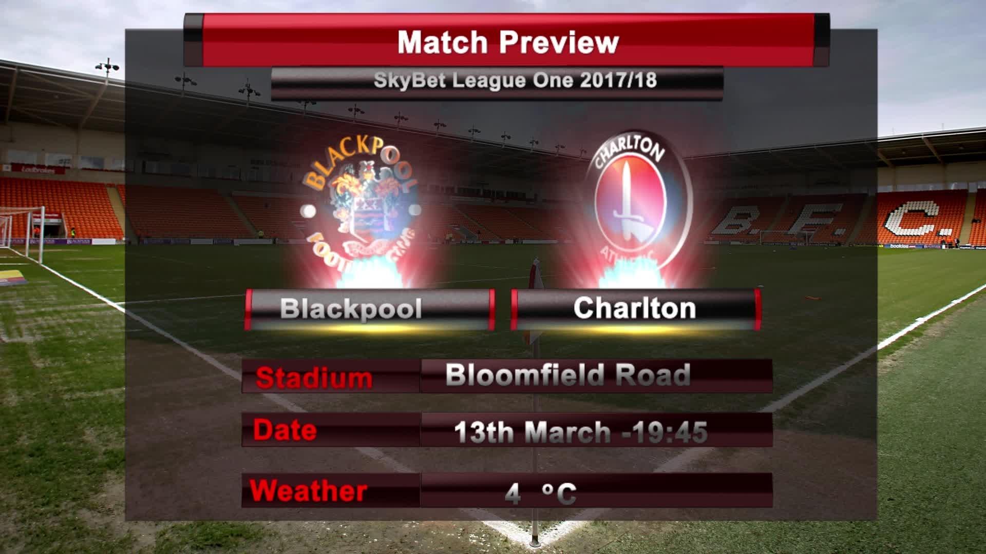 MATCH PREVIEW | Blackpool vs Charlton