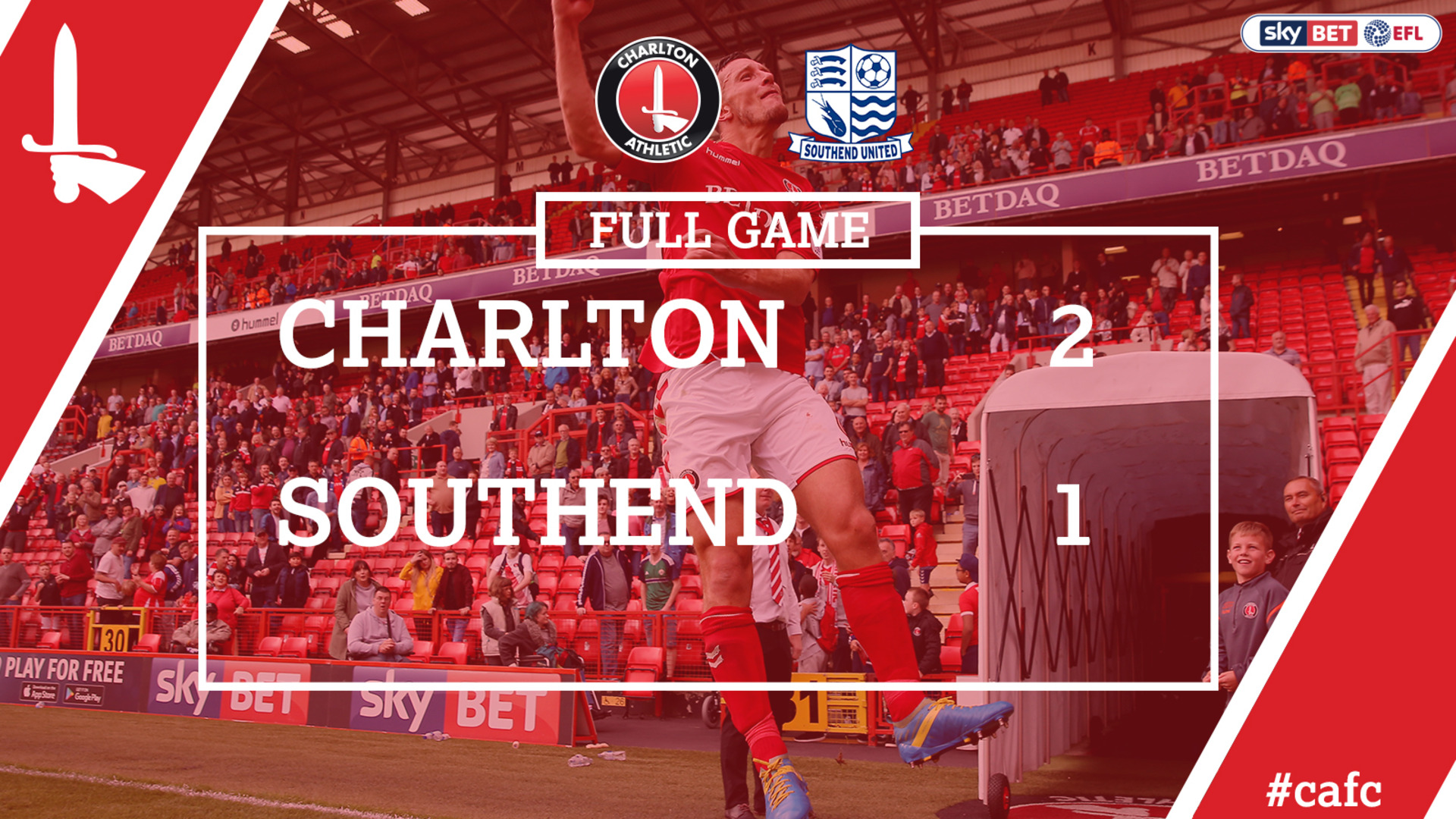 FULL GAME | Charlton 2 Southend United 1