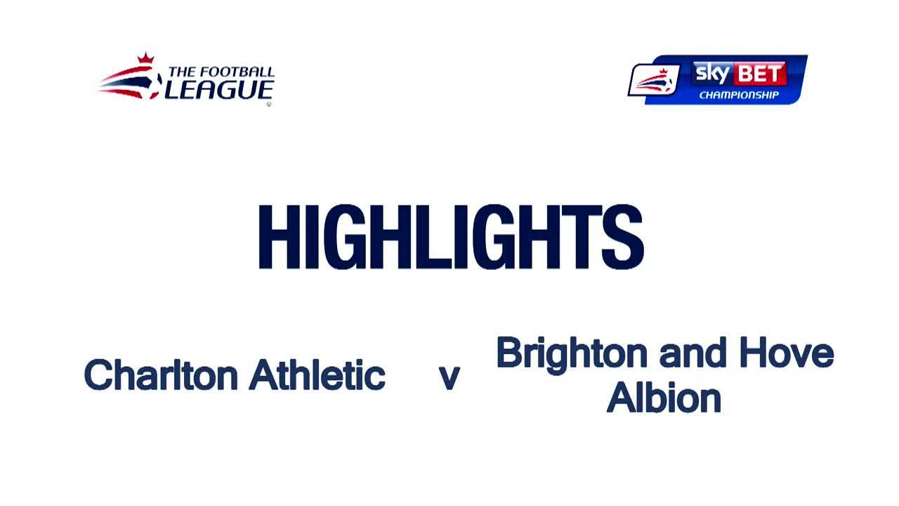 48 HIGHLIGHTS | Charlton 1 Brighton 3 (April 2016)