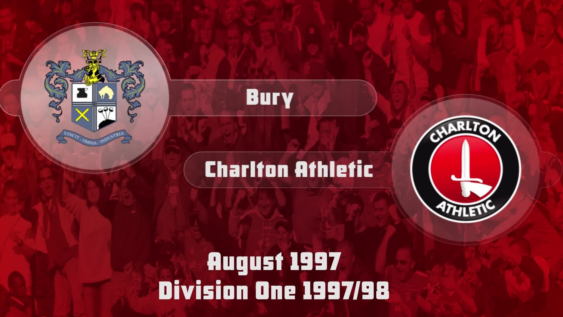 04 HIGHLIGHTS | Bury 0 Charlton 0 (Aug 1997)