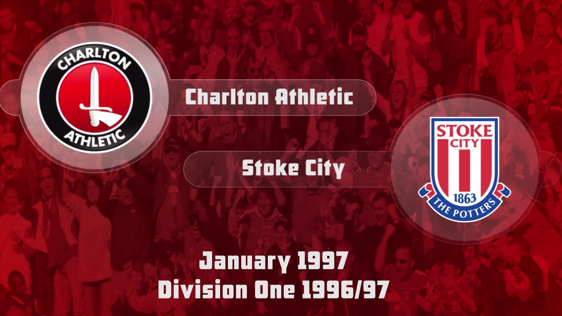 34 HIGHLIGHTS | Charlton 1 Stoke 2 (Jan 1997)