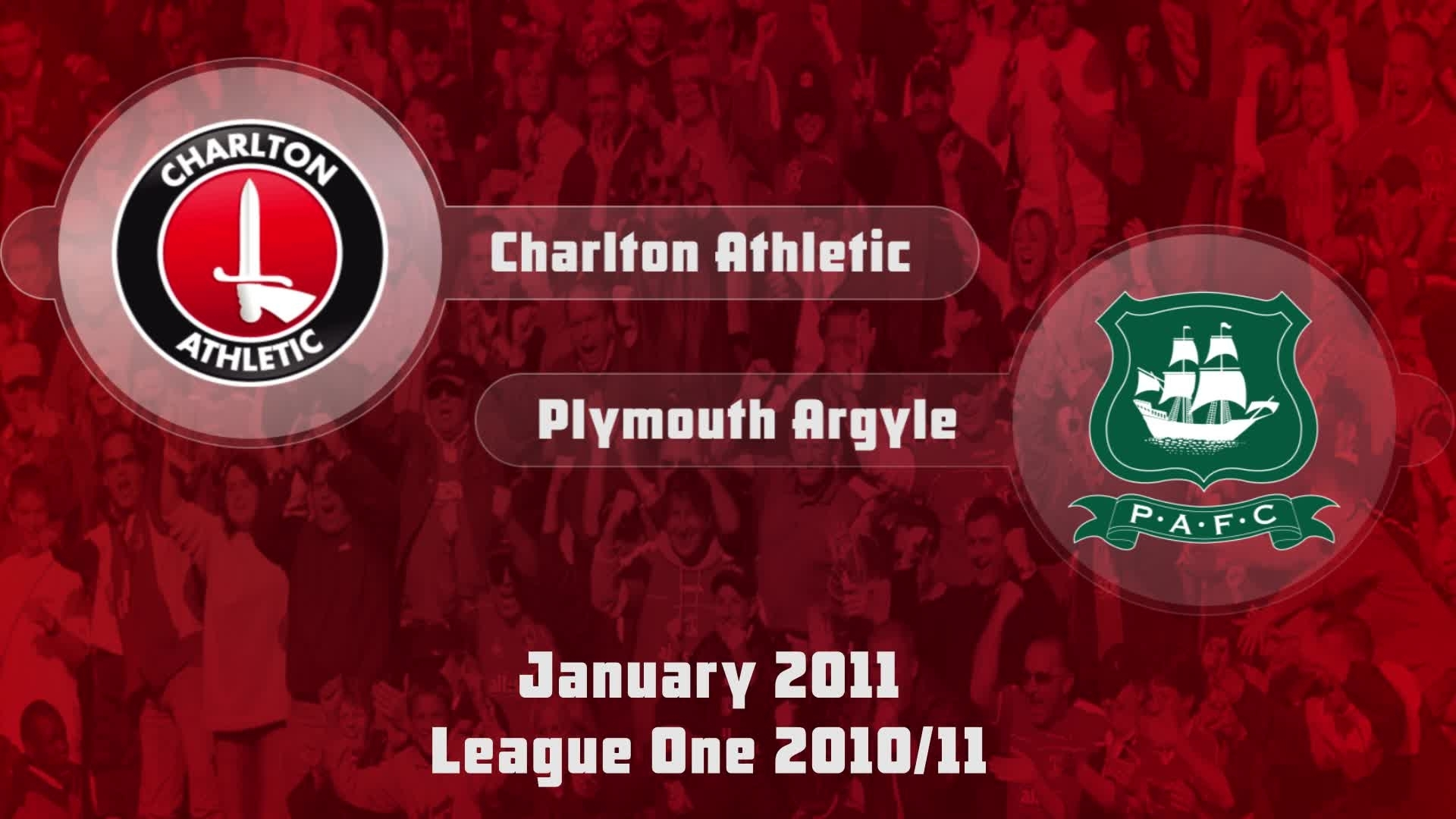 34 HIGHLIGHTS | Charlton 2 Plymouth 0 (Jan 2011)