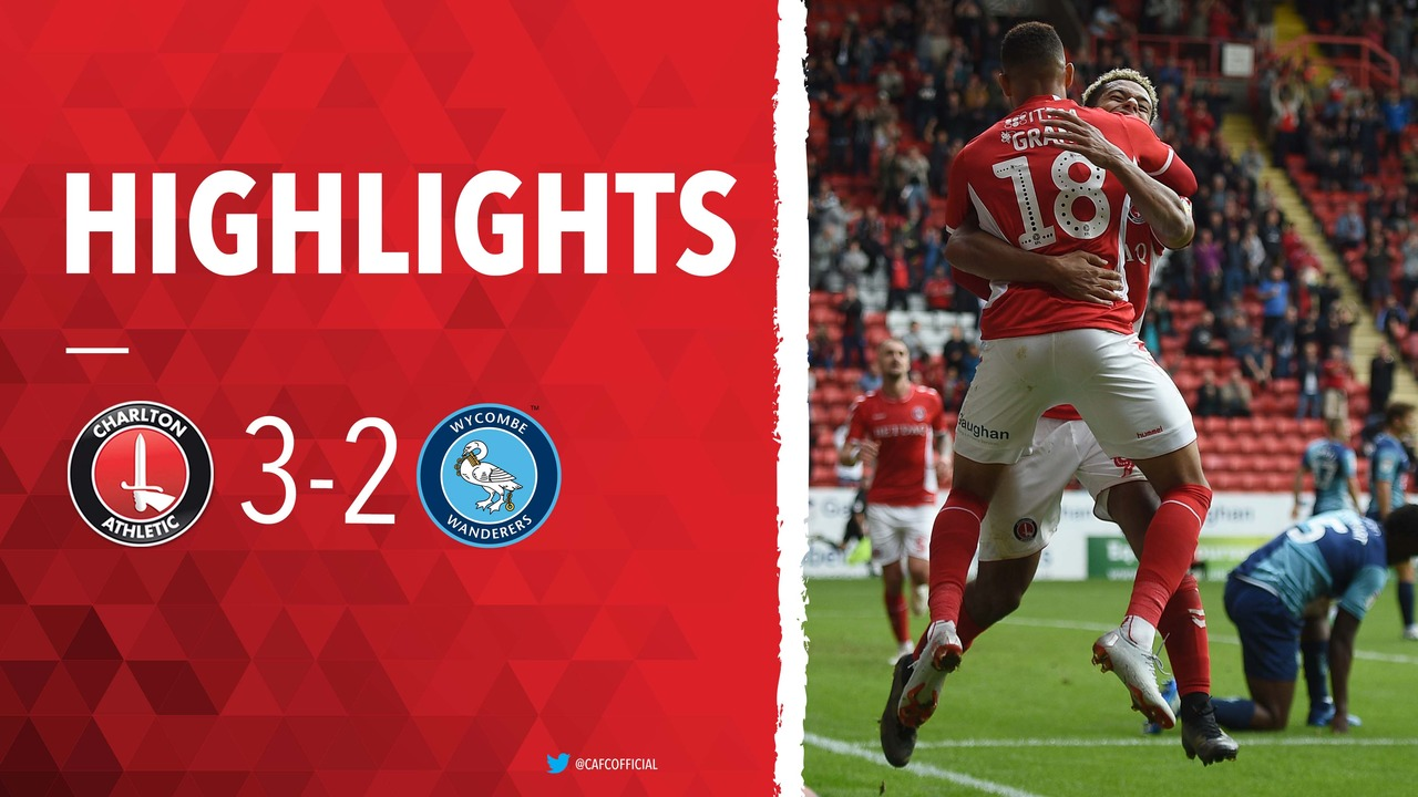 09 HIGHLIGHTS | Charlton 3 Wycombe Wanderers 2 (September 2018)