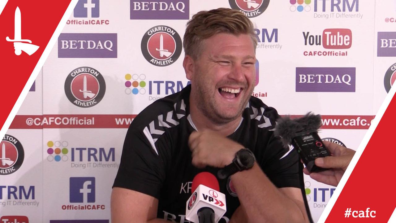Karl Robinson's pre-Bristol Rovers press conference