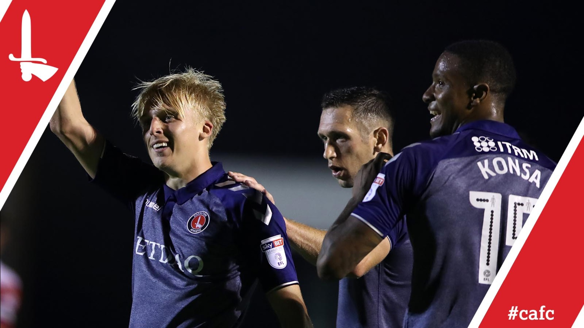 George Lapslie and Taylor Maloney 'buzzing' after making their debuts