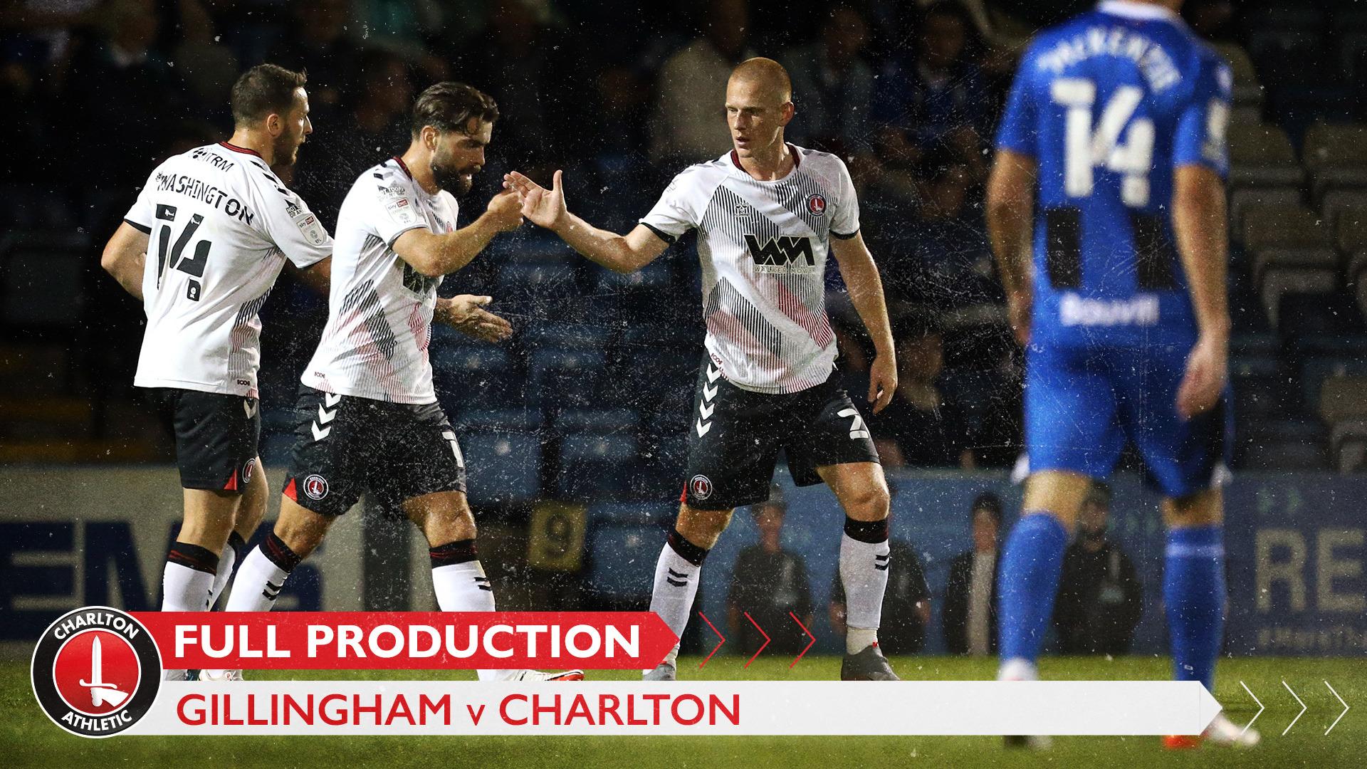 CharltonTV | Full broadcast - Gillingham (September 2021)