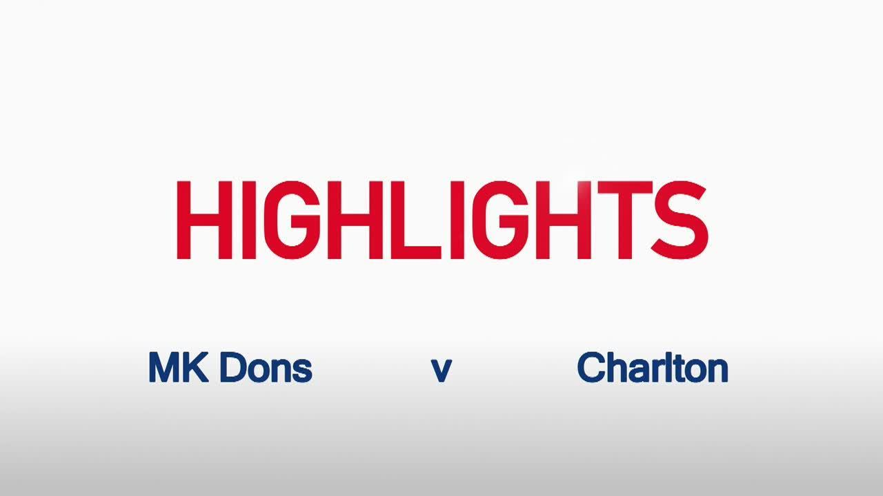 18 HIGHLIGHTS | MK Dons 1 Charlton 0 (Nov 2015)