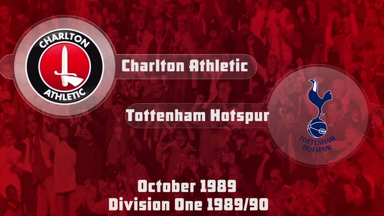 11 HIGHLIGHTS | Charlton 1 Tottenham 3 (Oct 1989)