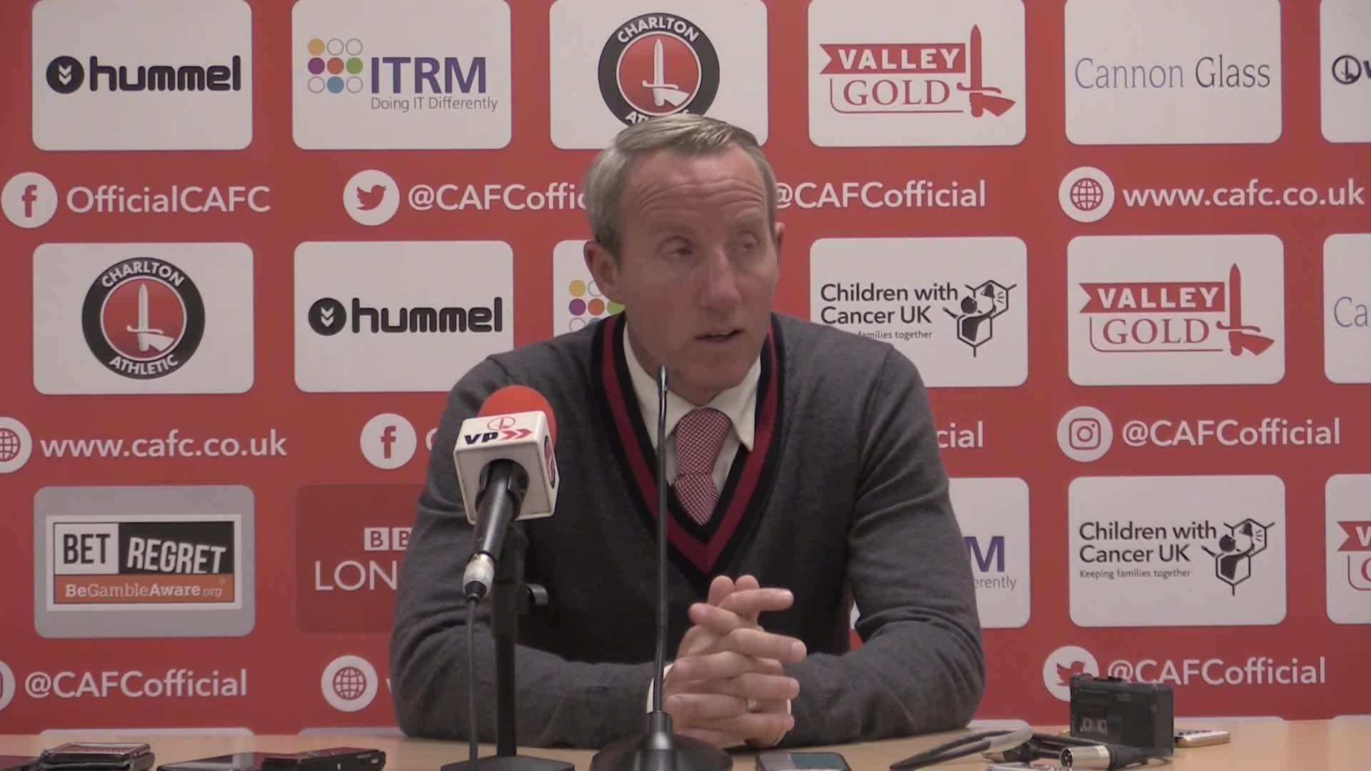 POST MATCH | Lee Bowyer faces the media following a draw to Nottingham Forest
