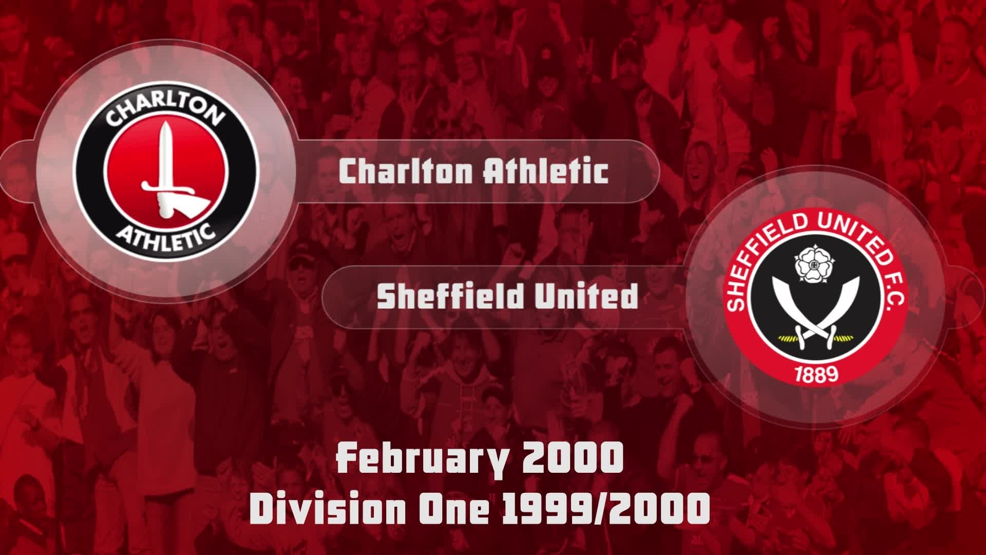38 HIGHLIGHTS | Charlton 1 Sheffield United 0 (Feb 2000)