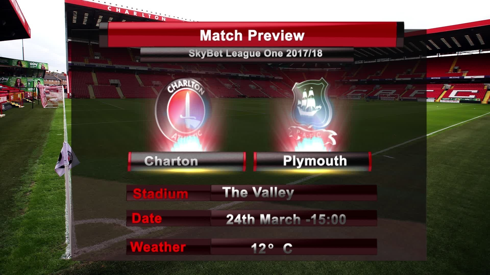 MATCH PREVIEW | Charlton vs Plymouth