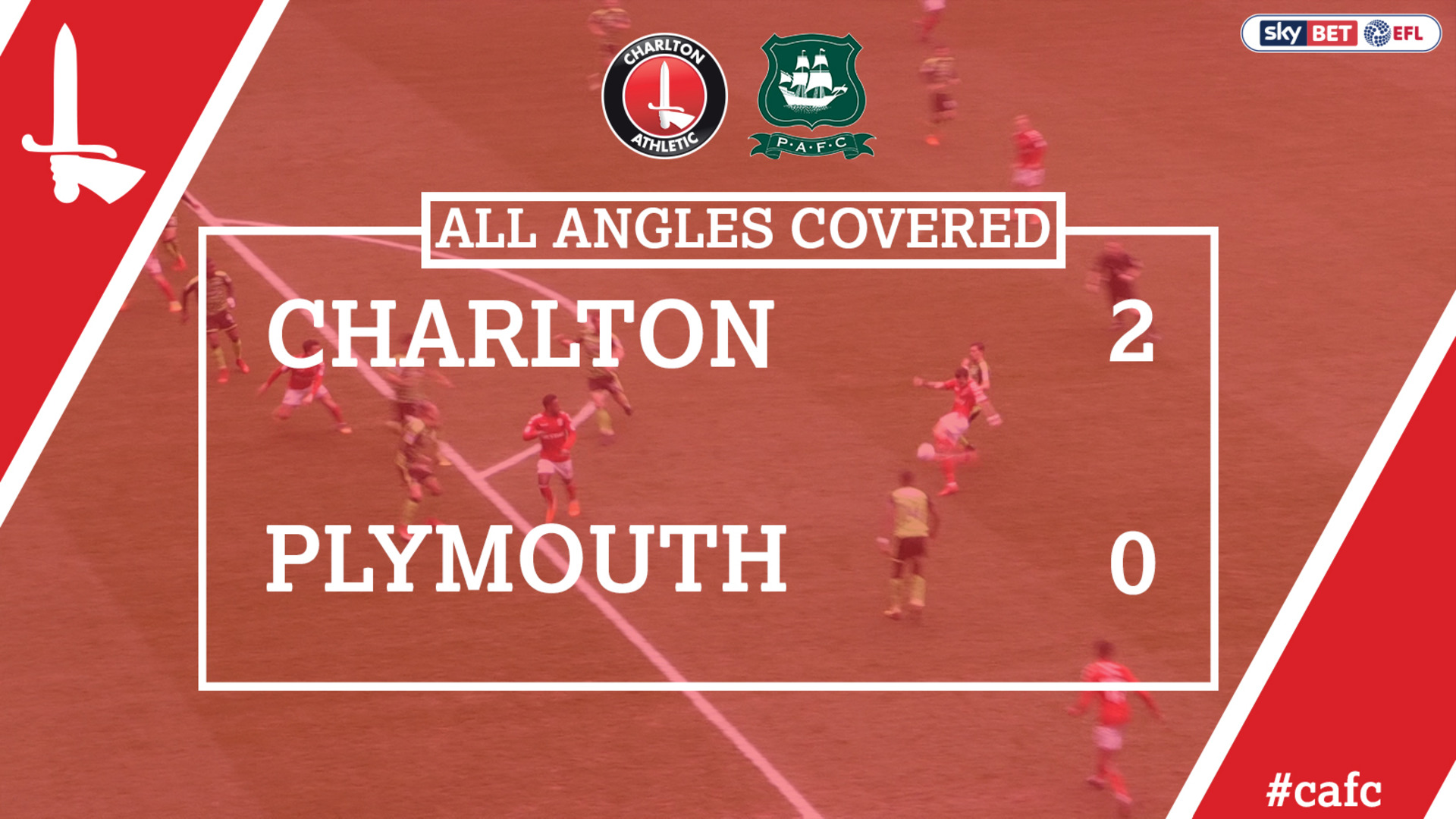 ALL ANGLES COVERED | Charlton 2 Plymouth 0 (Mar 2018)