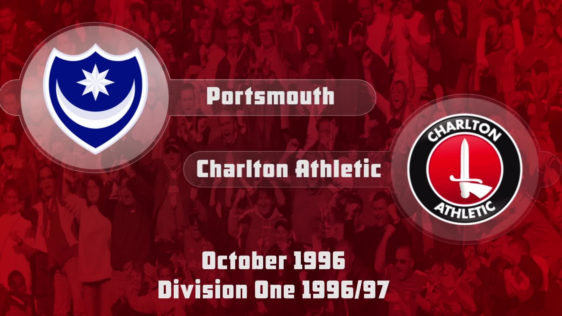 11 HIGHLIGHTS | Portsmouth 2 Charlton 0 (Oct 1996)