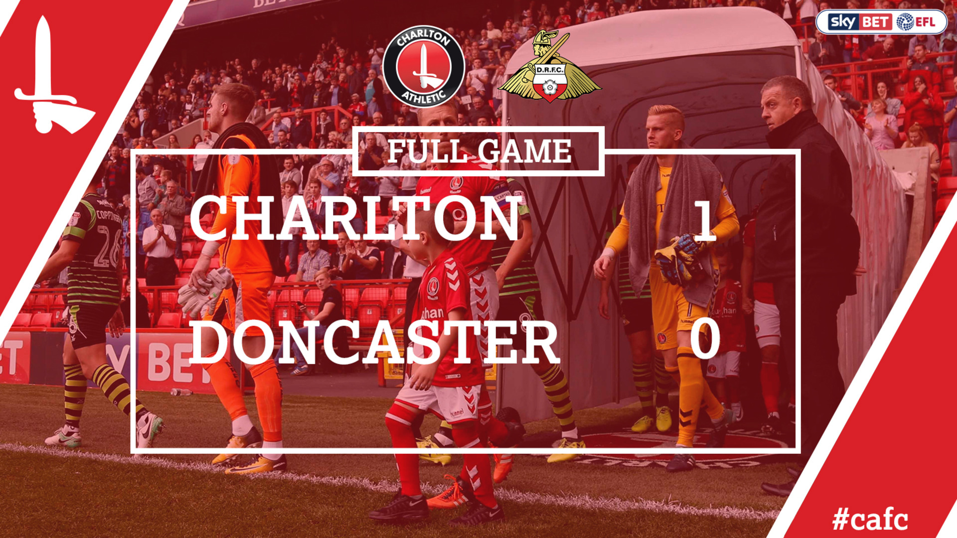 FULL GAME | Charlton 1 Doncaster 0