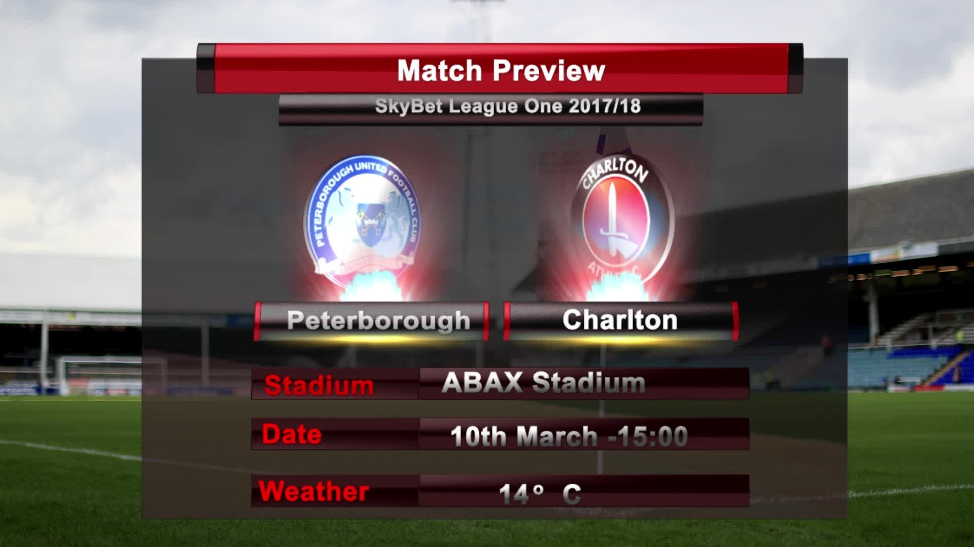MATCH PREVIEW | Peterborough vs Charlton