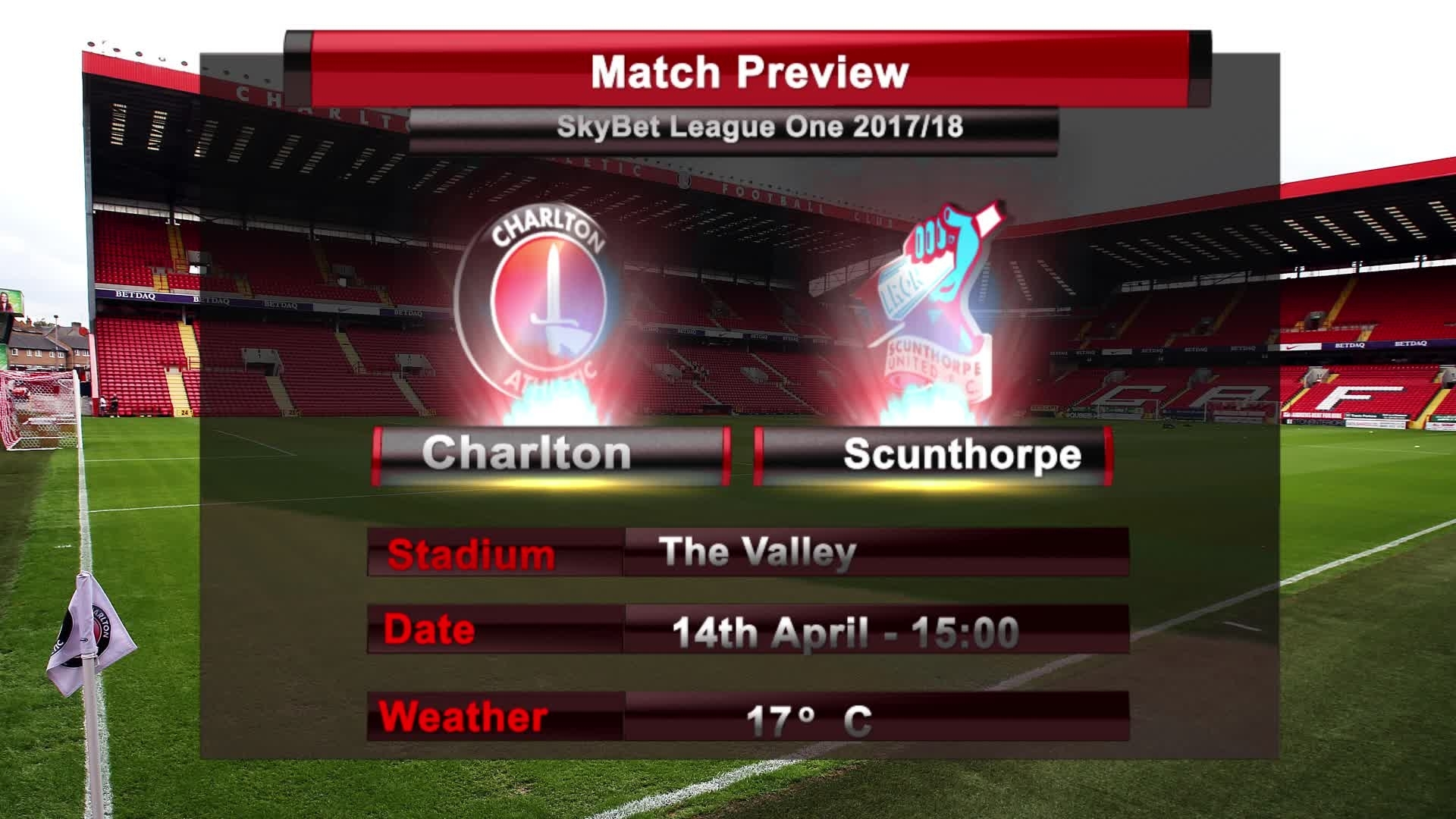 MATCH PREVIEW | Charlton vs Scunthorpe