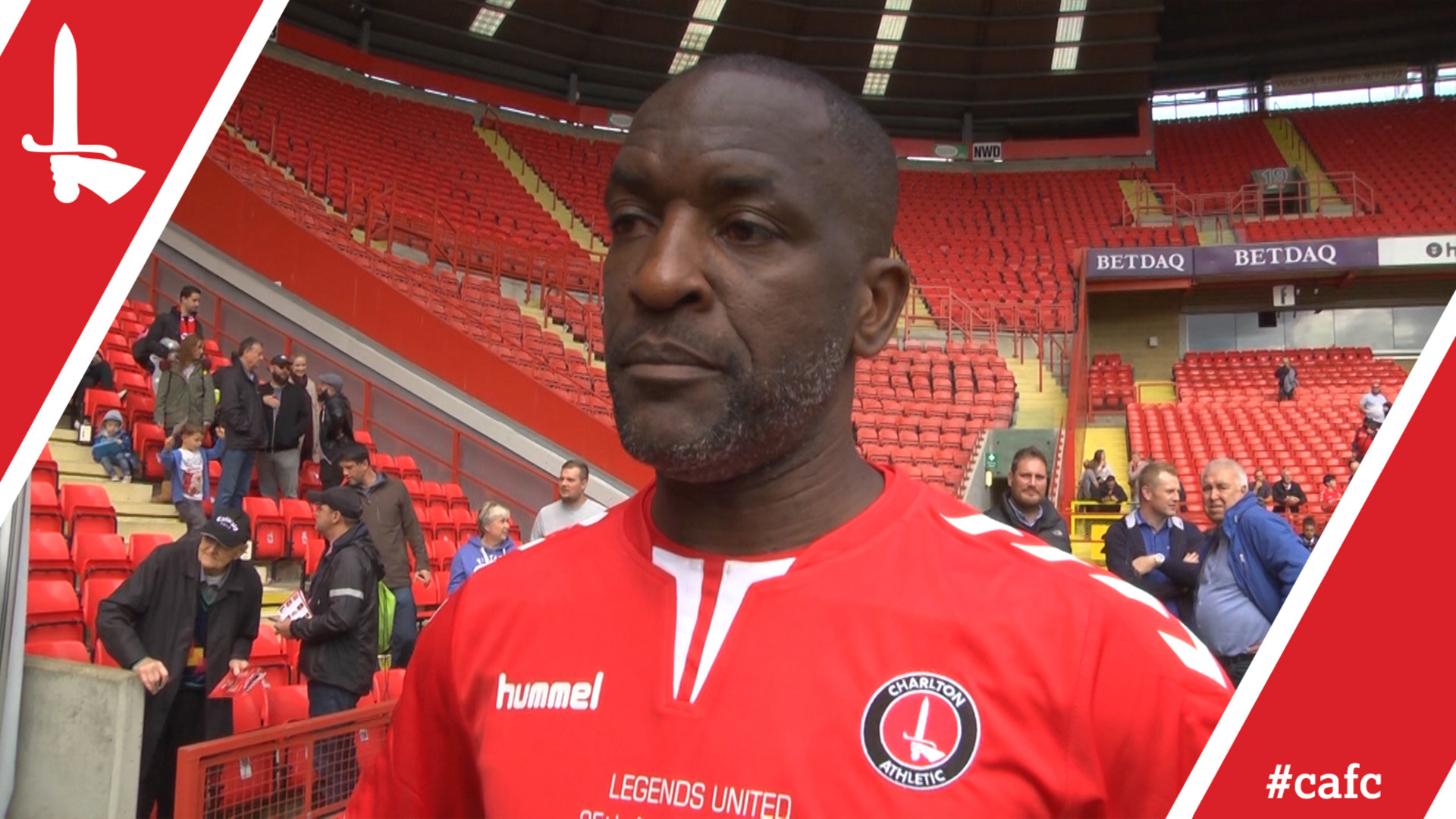 LEGENDS UNITED | Chris Powell proud to play a part in Charlton's history