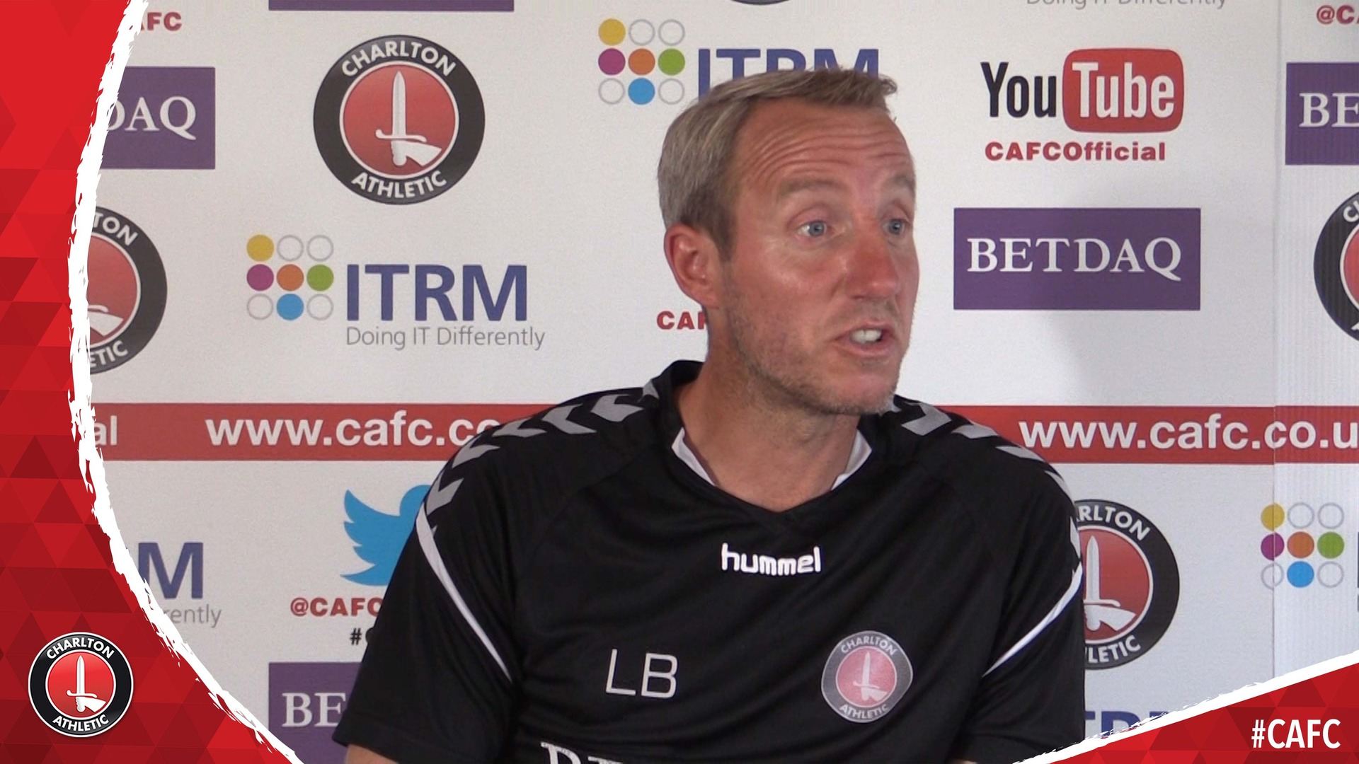 Lee Bowyer previews Charlton's final pre-season friendly against Norwich City