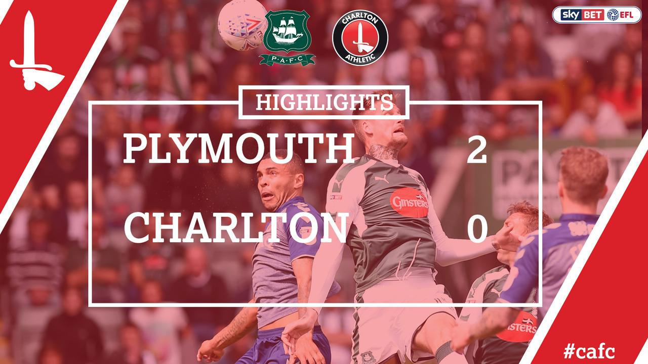HIGHLIGHTS | Plymouth 2 Charlton 0 (Aug 2017)