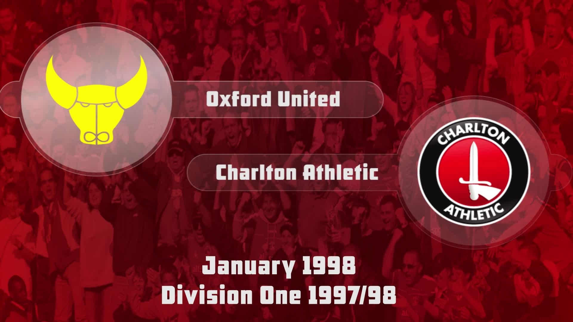 30 HIGHLIGHTS | Oxford 1 Charlton 2 (Jan 1998)