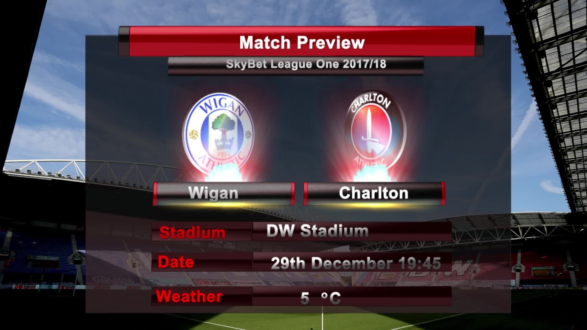 MATCH PREVIEW | Wigan vs Charlton