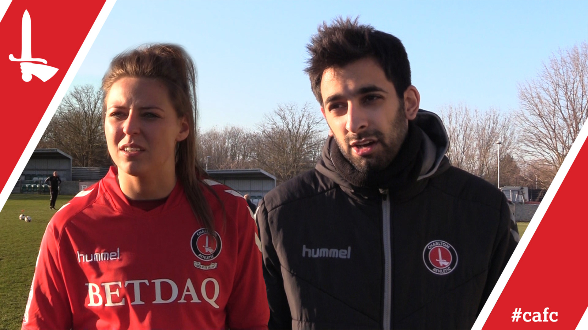 WOMEN'S REACTION | Riteesh Mishra & Charley Cliford pleased with Orient victory (Feb 2018)