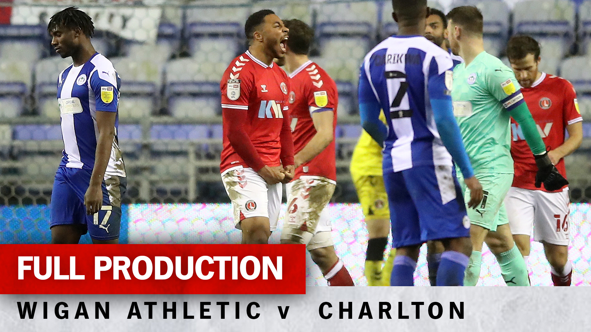 Charlton TV | Full broadcast - Wigan Athletic (a) (March 2021)