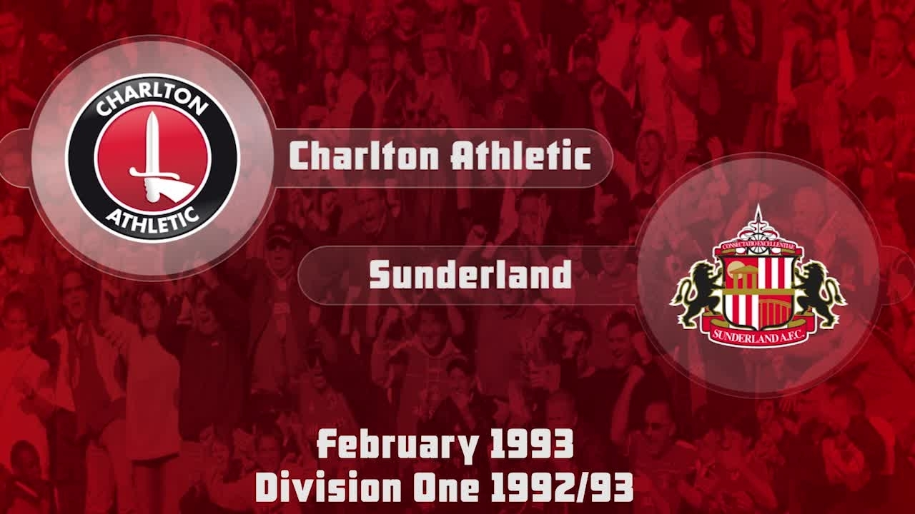 36 HIGHLIGHTS | Charlton 0 Sunderland 1 (Feb 1993)