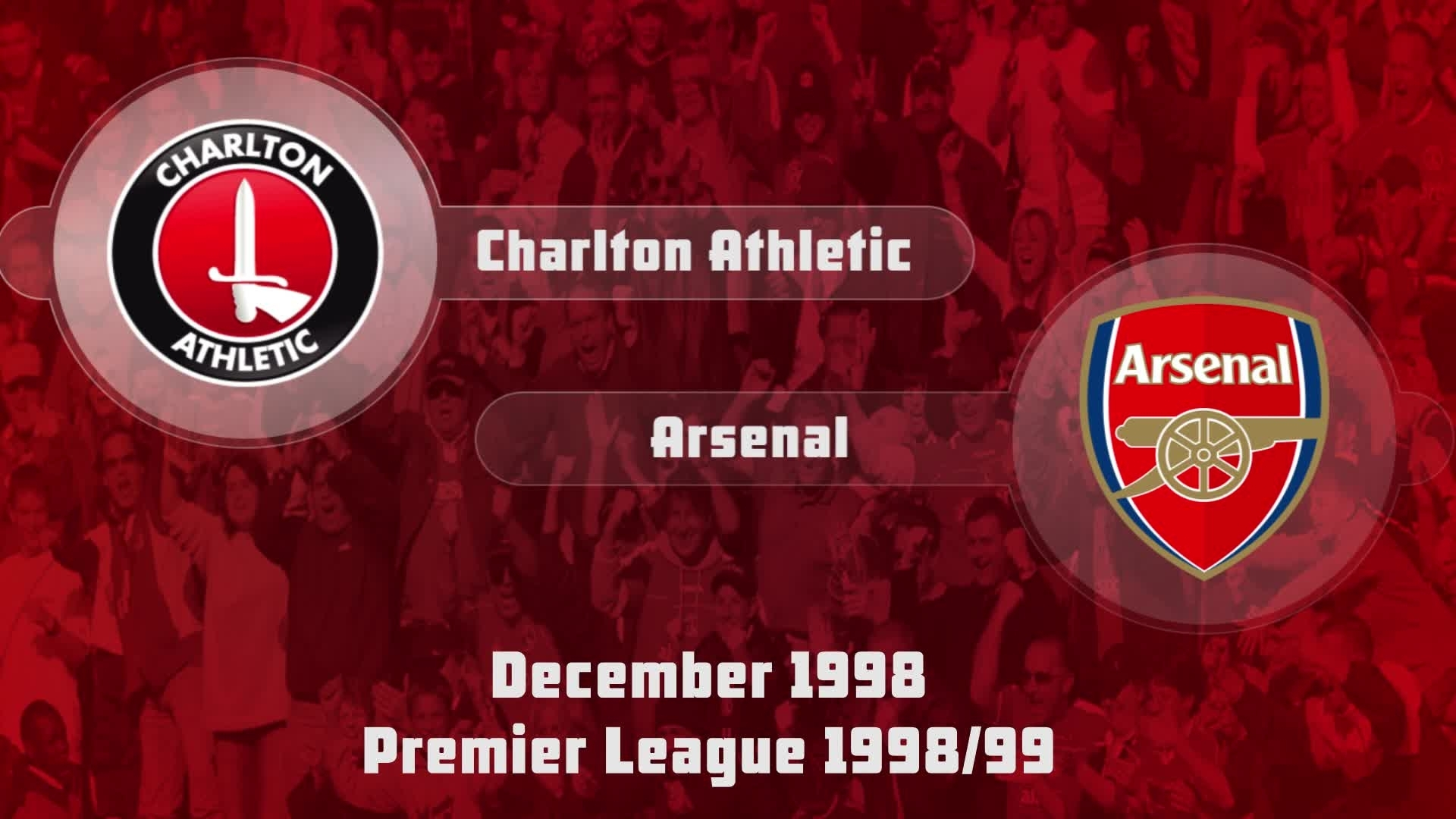 23 HIGHLIGHTS | Charlton 0 Arsenal 1 (Dec 1998)