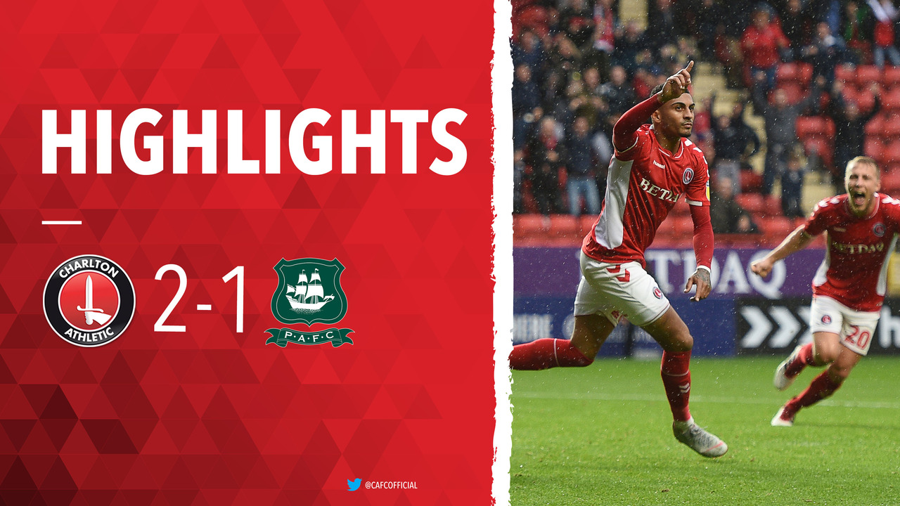 11 HIGHLIGHTS | Charlton 2 Plymouth Argyle 1 (September 2018)