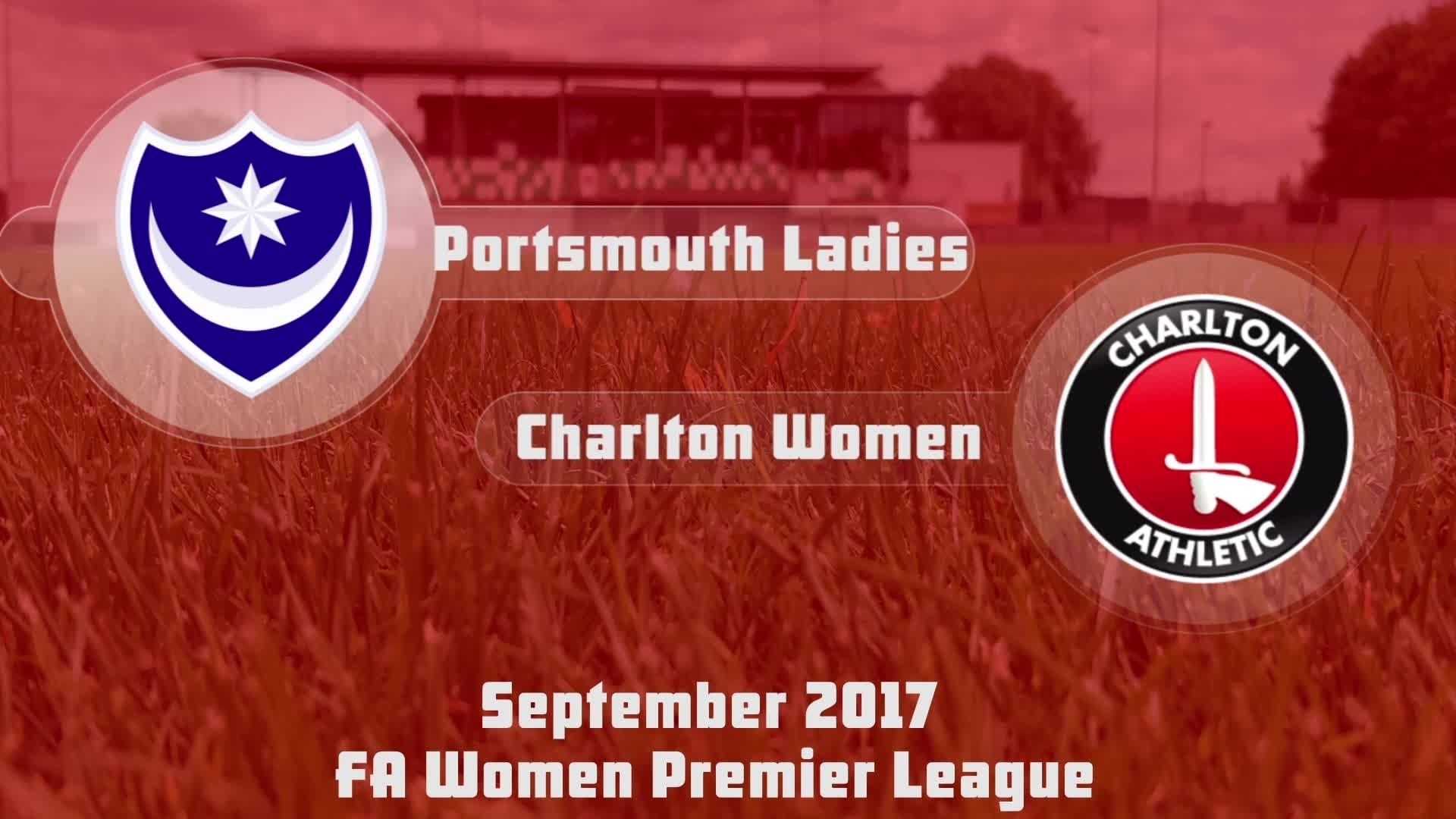 WOMEN'S HIGHLGHTS | Portsmouth Ladies 0 Charlton Women 1