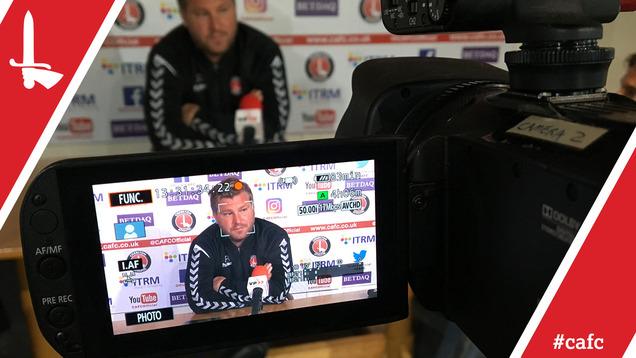 Karl Robinson's pre-Northampton Town press conference