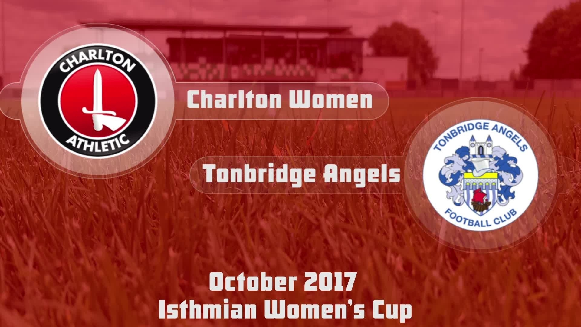 WOMEN HIGHLIGHTS | Charlton 22 Tonbridge Angels 0