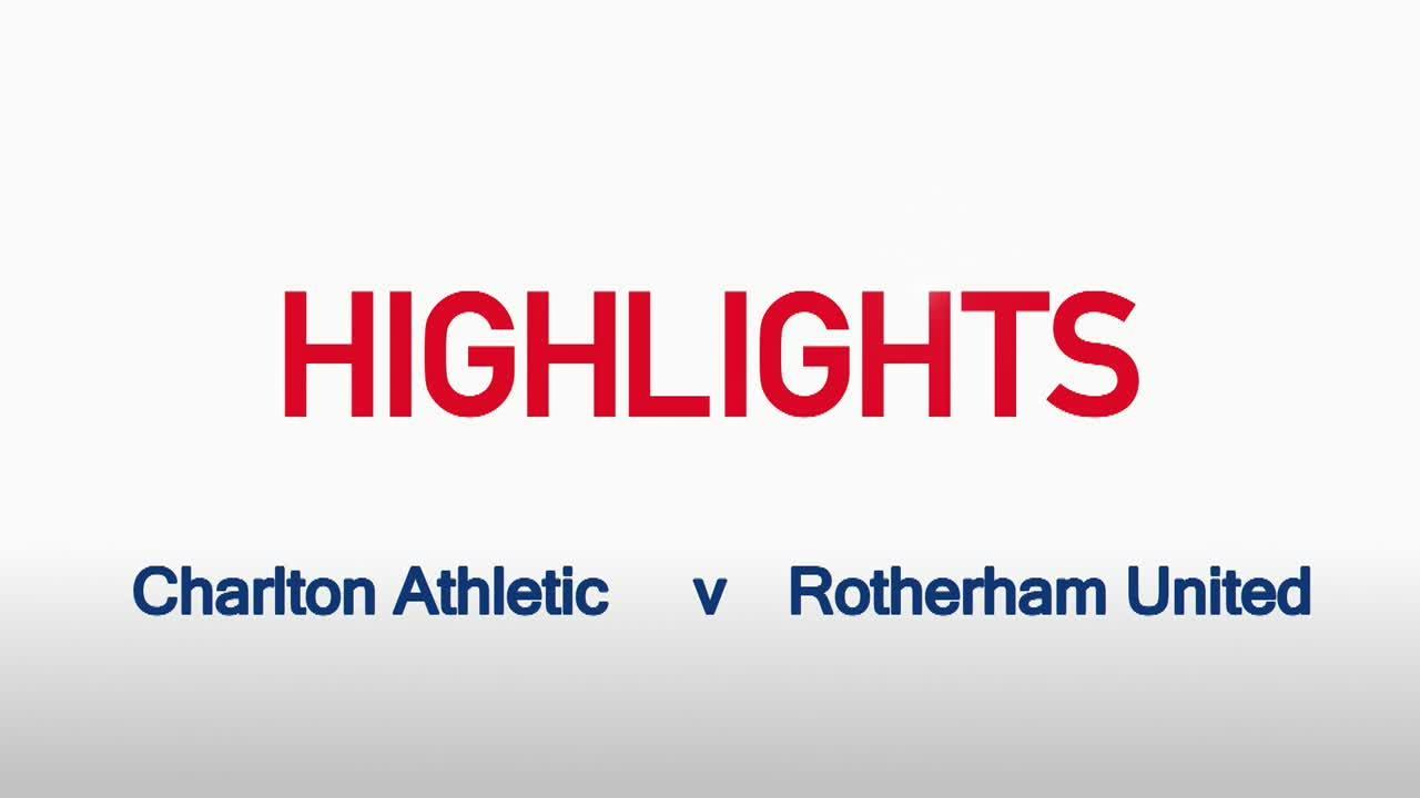 08 HIGHLIGHTS | Charlton 1 Rotherham United 1 (Sept 2015)