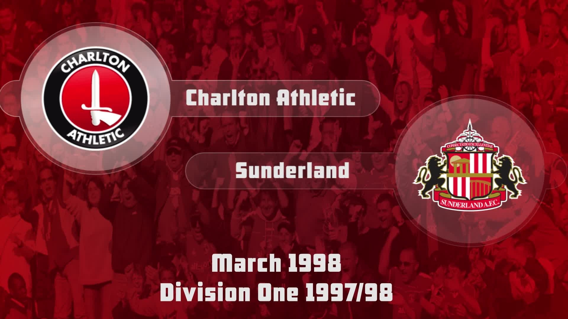 42 HIGHLIGHTS | Charlton 1 Sunderland 1 (March 1998)