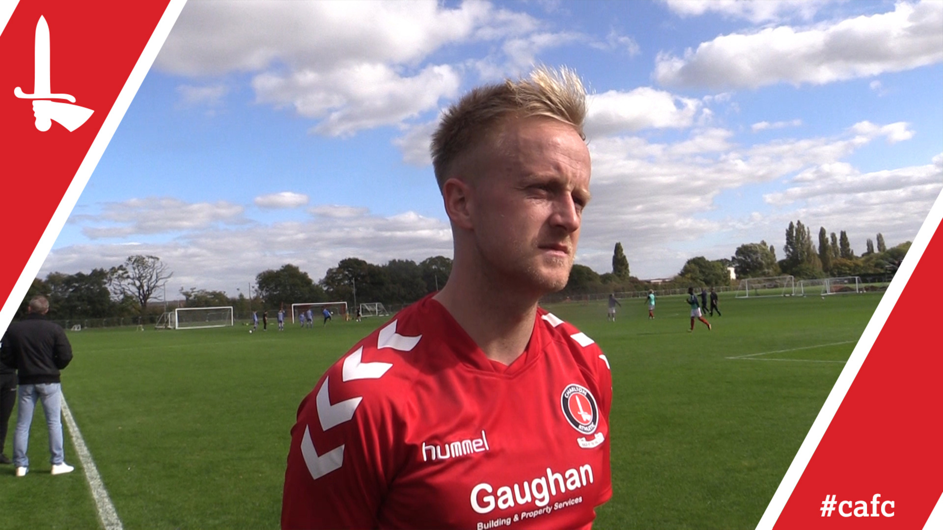 REACTION   Summer signing Ben Reeves pleased to be back out on the pitch