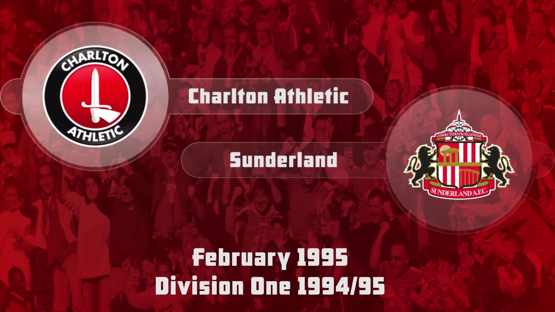 32 HIGHLIGHTS | Charlton 1 Sunderland 0 (Feb 1995)