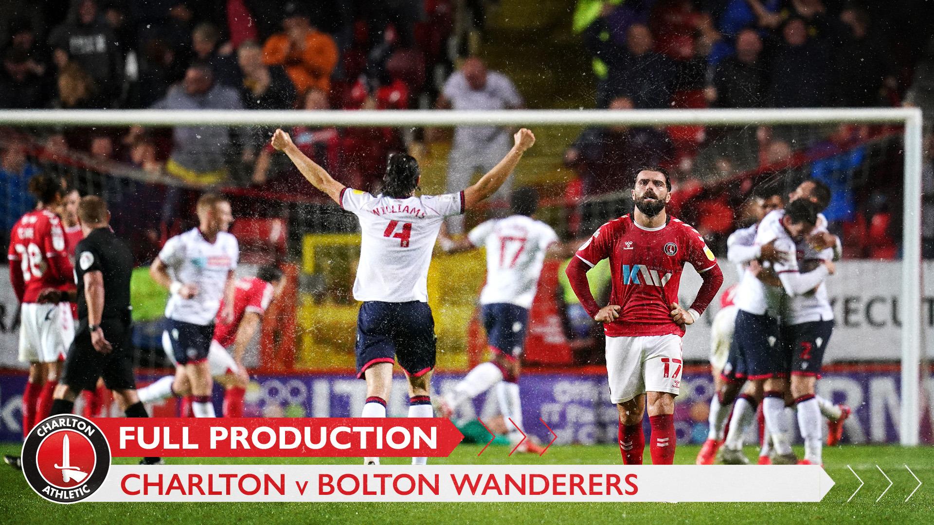 CharltonTV | Full broadcast - Bolton Wanderers (September 2021)